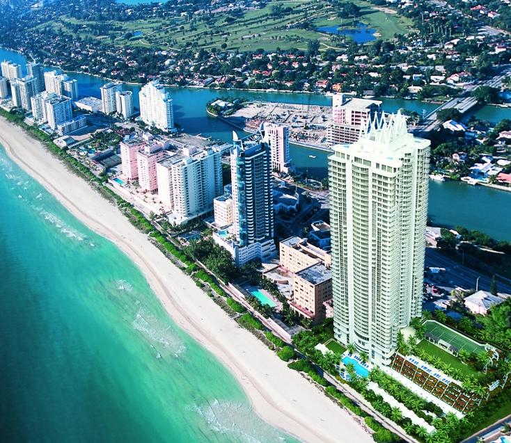 Akoya Miami Beach 3D rendering by Yosvany Teijeiro
