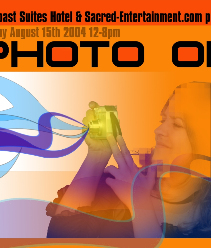 PHOTO OP, Photographic Exposition Flyer Design