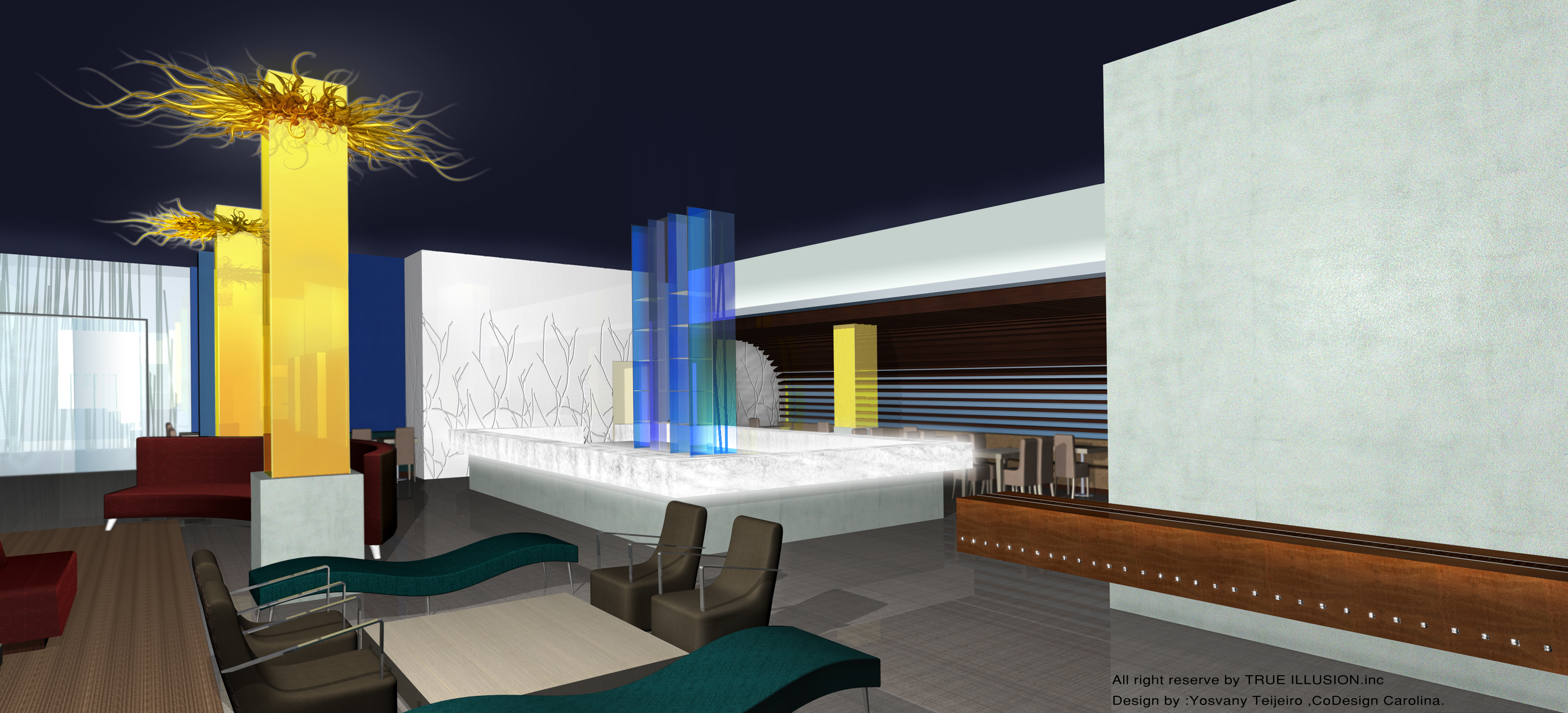 New orleans hotel interior decoration proposal 2007 for Design hotel new orleans