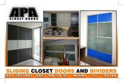YOSVANY TEIJEIRO APA Closet doors flyer