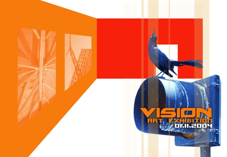 Vision Art Exhibition, Graphic Design by Yosvany Teijeiro, 2004