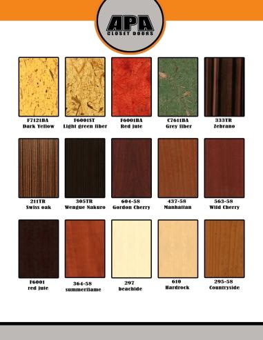 YOSVANY TEIJEIRO APA Closet doors graphic design catalog furniture miami 2008 7