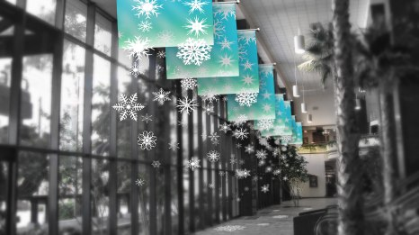 YOSVANY TEIJEIRO Christmas decoration Proposal for Dadeland South Train Station, 2008