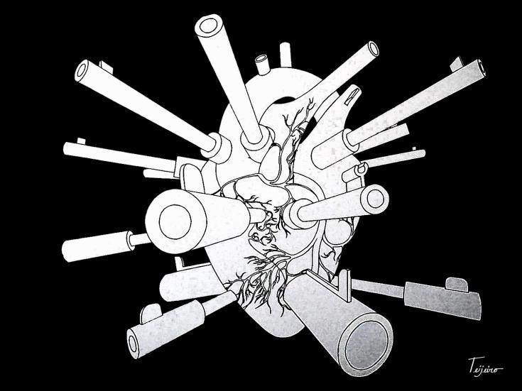 """SELF-DEFENSE"" By Contemporary Cuban Artist Yosvany Teijeiro"