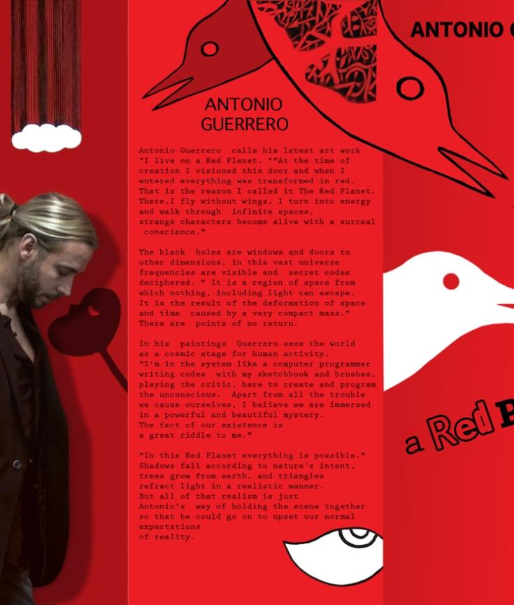 YOSVANY TEIJEIRO graphic design antonio guerrero flyer 2010 2