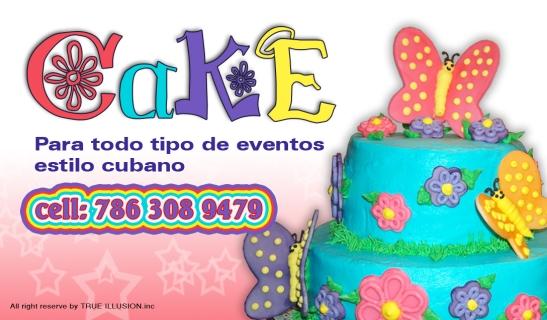 YOSVANY TEIJEIRO Graphic Design Cake Business Card 2012