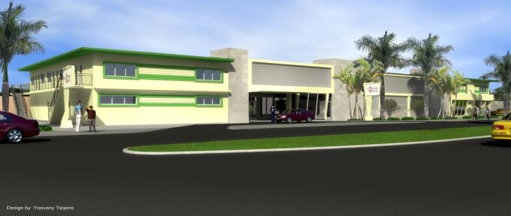 YOSVANY TEIJEIRO Historic Hampton House 3D rendering Miami 1