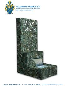 YOSVANY TEIJEIRO 3D Rendering, presentation for Rua Granite & Marble, 2008