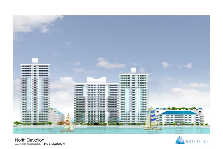 YOSVANY TEIJEIRO 3D Render North View Brisas del Rio