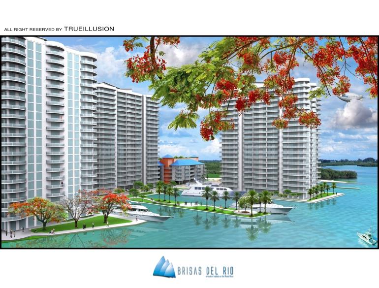 YOSVANY TEIJEIRO 3D render Perspective View Brisas del Rio