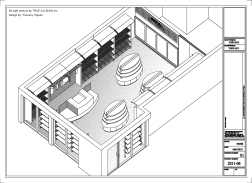 """BOTTEGA LA DOLCE VITA"" Store Design by Trueillusion Inc. 2011 (isometric view)"