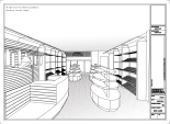 """""""BOTTEGA LA DOLCE VITA"""" Store Design by Trueillusion Inc. 2011 (pespective view)"""