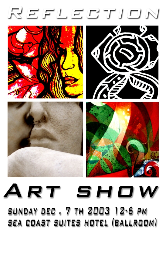 Relfection Art Show