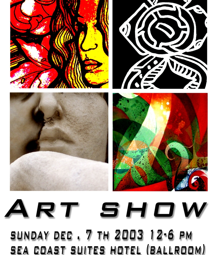 Relfection Art Show