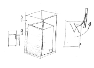 Museum Case, furniture design concept