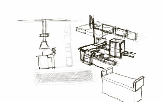 Furniture Design Sketches Png