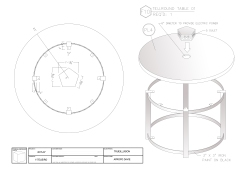 Shop Drawings/Charging Table-T