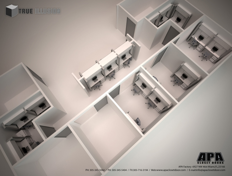 3D Render/Isometric View