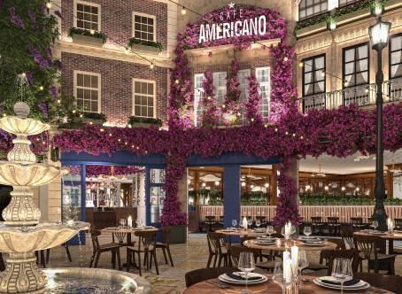 CAFE AMERICANO-Casino Paris, Las Vegas