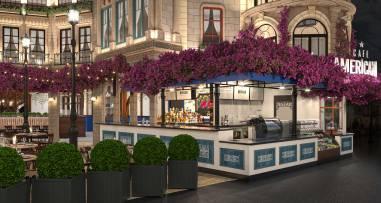 CAFE AMERICANO-Casino Paris, Las Vegas(8)